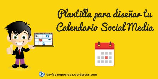 plantilla calendario social media